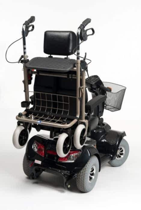 rollatorhouder voor carpo scootmobiel van vermeiren