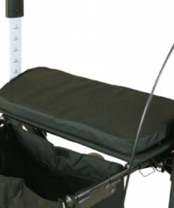server rollator harde zitting met zachtkussen