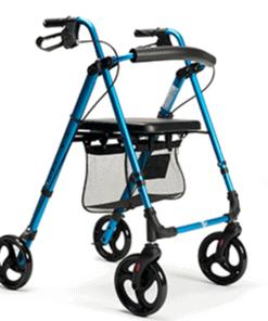 goedkope rollator eco plus blauw
