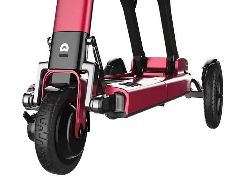 1 3 Relync R1 opvouwbare Scootmobiel rood