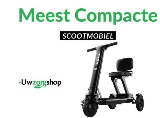 meest compacte scootmobiel voor op reis