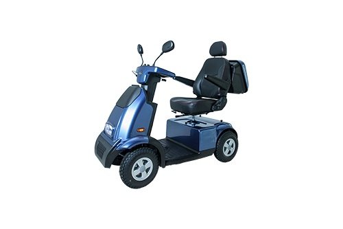 Afikim scootmobiel Breeze C4 Plus blauw