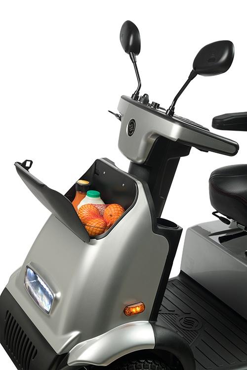 Afikim scootmobiel Breeze C4 Plus met opberg vakje