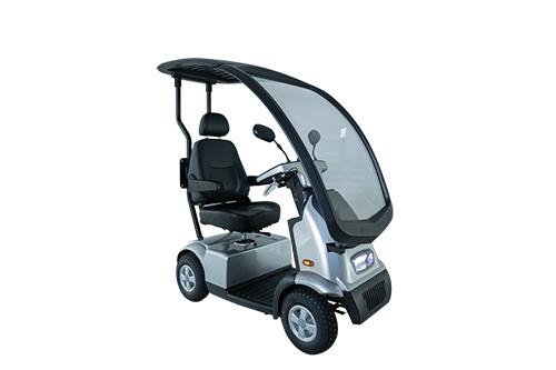Afikim scootmobiel Breeze C4 Plus met overkapping