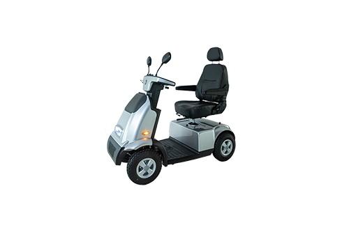 Afikim scootmobiel Breeze C4 Plus zilver