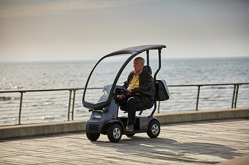 Afikim scootmobiel Breeze C4 service