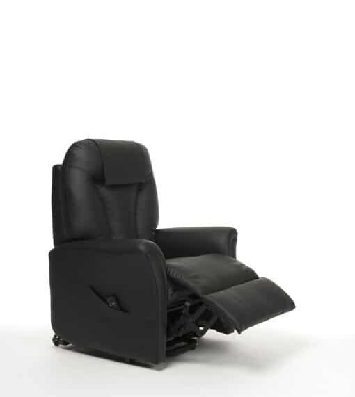 Sta op stoel Montreal zwart skai