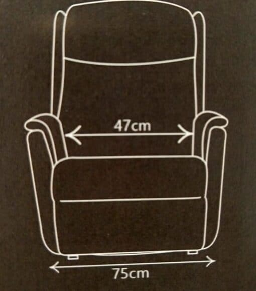 hoe breed is een sta op stoel bergamo
