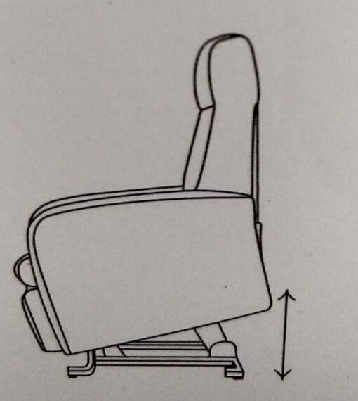 sta op stoel Turin achtermaat