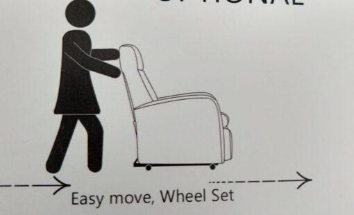 sta op stoel Turin makkelijk te verplaatsen