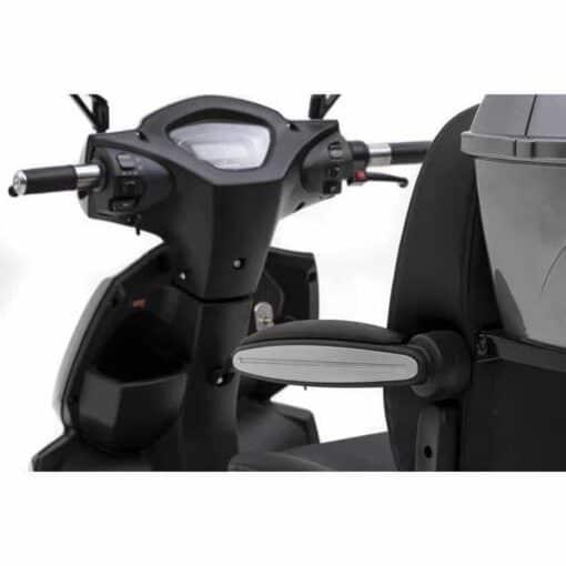 Nipponia 2Fast scootmobiel stoel verstellen
