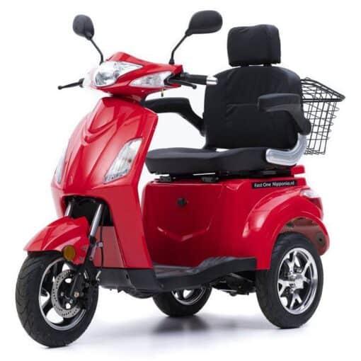 Nipponia Fast scootmobiel rood 2