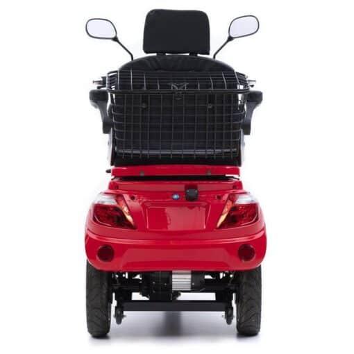Nipponia Fast scootmobiel rood 4