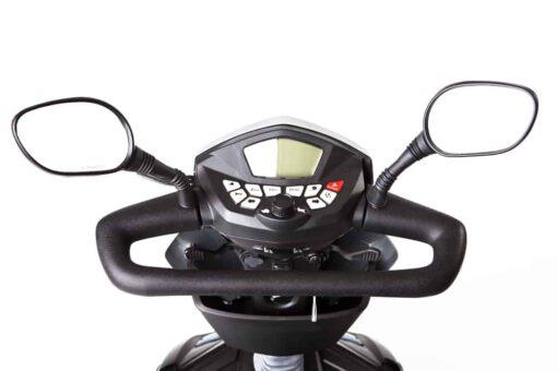 maxer scootmobiel stuur met spiegels