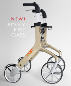 Lets Fly rollator champagne
