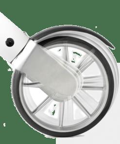 Lets Fly rollator wheel suspension