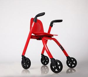 Nipglide rollator RED Seat LR