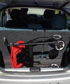 Nipglide rollator in the car