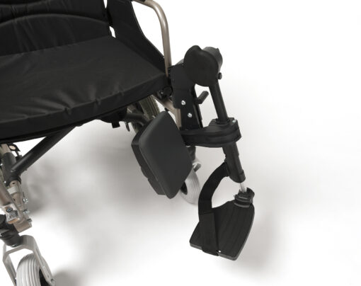 Comfort beensteunen voor de rolstoel jass s50