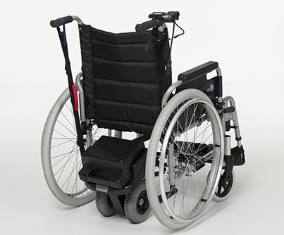 Hulpmoter voor rolstoel