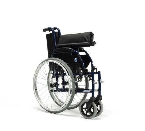 Jazz S50 rolstoel opgevouwen