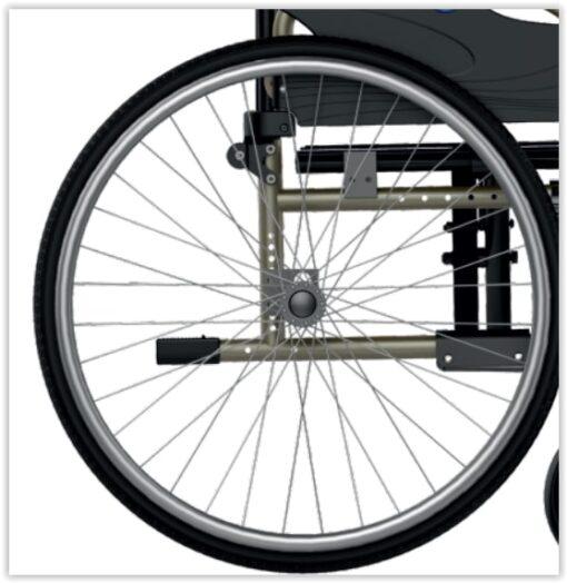 Rolstoel wiel voor de Icon 20