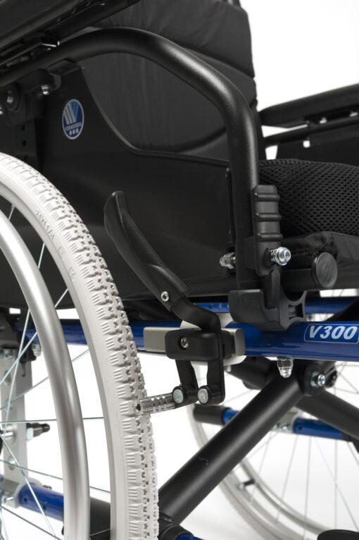 V300 DL rolstoel zijaanzicht