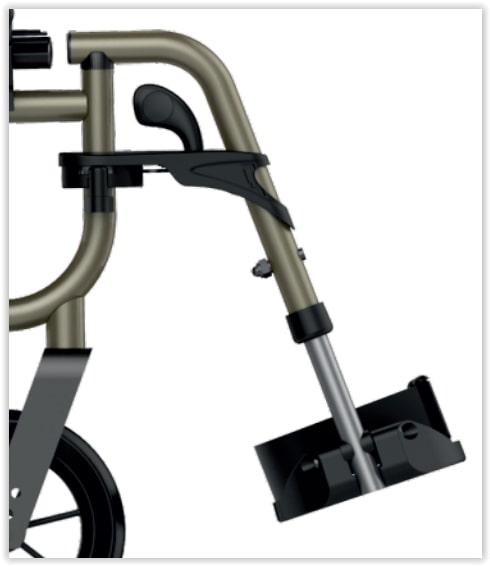 beensteun voor icon rolstoel
