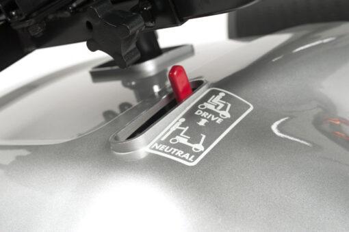 motor vrijzetten van de eris scootmobiel