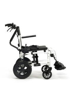 rolstoel Bobby EVO met armleuning omhoog