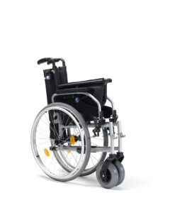 rolstoel d100 opgevouwen