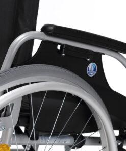 rolstoel d100 vermeiren met armleuningen