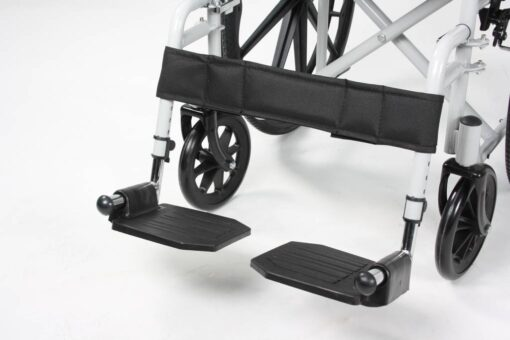 rolstoel excel g basic voetsteunen
