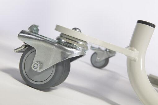 Wheel with separate brake