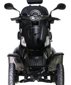 vooraanzicht excel roadmaster scootmobiel zwart