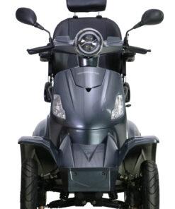 vooraanzicht roadmaster scootmobiel grijs