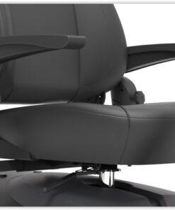 Luxe stoel met armleuning van de Mio 2 scootmobiel