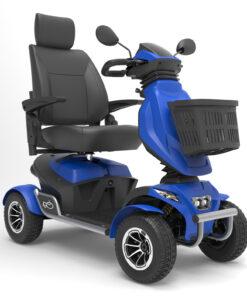 betaalbare scootmobiel Mio Scootmobiel blauw