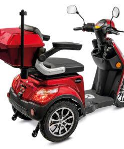 Rolektro e-trike rood met lithium koffer
