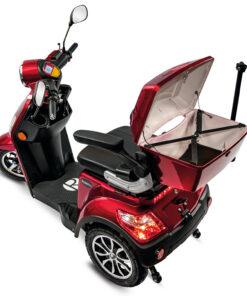 Rolektro e-trike scootmobiel met open koffer