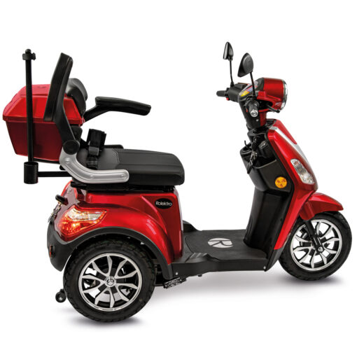 Rolektro e-trike rood met lithium