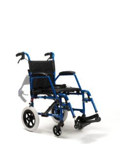 rugleuning neergeklapt bij rolstoel bobby